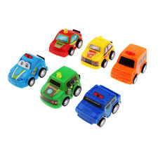 6 pcs Classic Boy&Girl Vehicle Kids Child Toy Mini Small Pull Back Car Racer