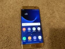 Samsung Galaxy S7 edge 32GB Gold Platinum (Sprint) (TESTED, CLEAN IMEI) #F679