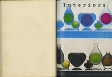 1960 Milan Triennale INTERIORS 4-Vol Bound SET 20th Anniv issue SOTTSASS Mollino
