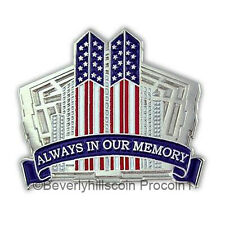 911 New York World Trade Pentagon Lapel Pin