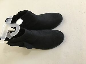 NWT Gymboree Black Bow Boots Booties Many sizes Girls