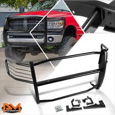 For 06-08 Dodge Ram 1500-3500 Mega Cab Bumper Brush Grill Guard Protector Black