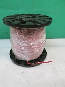 500FT Carol E60233-8, 16 Awg 3 Conductor Control Cable Solid Copper CMR 75C RED