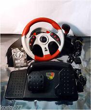 Mad Catz Universal MC2 6320 Racing Wheel & Pedals Xbox PS1 PS2 & GameCube