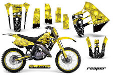 Suzuki RM 125/250 Graphic Kit AMR Racing # Plates Decal Sticker MX 89-92 REAPER