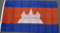 3X5 CAMBODIA FLAG CAMBODIAN FLAGS ASIA NEW BANNER F070