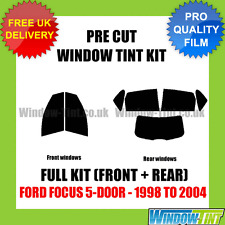 Ford Focus 5-door 1998-2004 Volles Vor- cut Fenster Tönungs Set