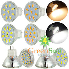 MR11 GU4 2/3/4/5W 9/12/15/18 LED 5733 2835 SMD Ampoule Lampe Bulb AC/DC12-30V