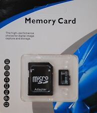 NEW 32GB SD Card TF Flash Memory MicroSD MicroSDHC Class 10 Free Adapter