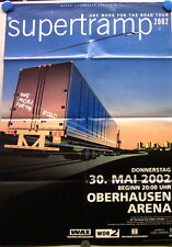 Konzertplakat Supertramp One More For The Road Tour 2002