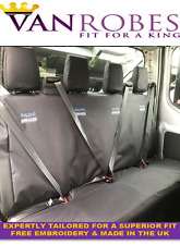 Ford Transit (2014 on). Double Cab. Tailored Rear Seat Covers. Free Embroidery