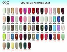CCO UV LED Nail GEL Polish Varnish Soak off Professional Full Range 150 Colours Base Coat