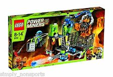 New sealed in original box Retired Lego Power Miners Lavatraz # 8191 Factory