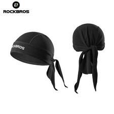 Rockbros Outdoor Bandana Hat Fleece Thermal Headband Pirate Style Caps Black