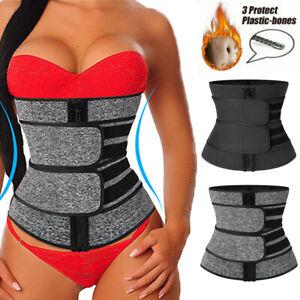 Women Waist Slim Trainer Sauna Sweat Yoga Weight Loss Body Shaper Girdle Belt OO