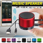 LED Bluetooth Wireless Speaker Portable Rechargeable For Samsung iPhone iPad HTC