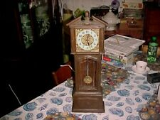 Vintage Robertshaw Lux Grandfather Style Mantle or Wall Clock Runs/keeps time