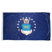 3x5 U.S. Air Force Flag Crest Emblem 3'x5' House Banner Grommets Fade Resistant