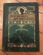 IRISH MELODIES and Sacred Songs by Thomas Moore, Thomas Crowell & Co NY