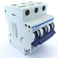 YuCo YC-20-3C 20amp 3pole C Curve Din Rail Mount Miniature Circuit Breaker