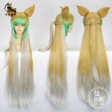 FGO Fate Grand Order Atalanta Archer Ear Wig + Hair Cap Cosplay Game WIGS