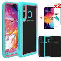 For Samsung Galaxy A10 A20 A50 Kickstand Belt Clip Phone Case Screen Protector