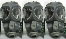 3x Scott M95 Respirator Gas Mask Swat Military Police Prepper New (NO -Filter)