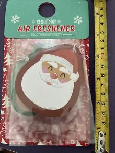 3 X Air Freshener Christmas Fun With Santa 🎅🏼 Snowman ☃️And Reindeer