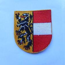 Salzburg Bundesland  Wappen Patch,Aufbügler,Aufnäher