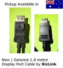 New & genuine display port DP monitor cable made by BizLink 1.8m
