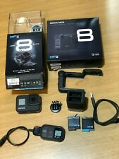 GoPro Hero 8 Black, with Media Mod, remote, many other accessories, 6 moths old