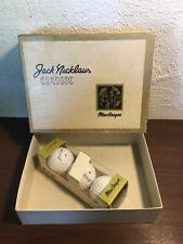 Vintage Jack Nicklaus MacGregor Classic (3)Golf Balls With Original Box