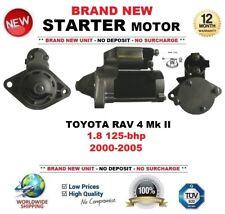 FOR TOYOTA RAV 4 II 1.8 VVTi 125-bhp 2000-2005 NEW STARTER MOTOR 1.3 kW 10Teeth
