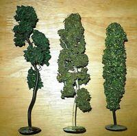FALLER Bäume Birke Pappel Kiefer Blechfuß Draht Sägemehl Modellbaum 0 S H0 16 cm