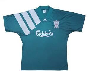 Liverpool 1992-93 Authentic Away Centenary Shirt (Very Good) XL Soccer Jersey