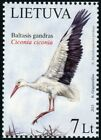 Lithuania 2013 982 Bird Nacional / Stork
