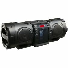 JVC Portable CD Boomblaster with Lightning Dock & Bluetooth - Black (RVNB75B)