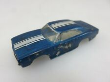 Kit Home Made Custom 1968-69 DODGE CHARGER HO Slot Car Blue **BODY ONLY**