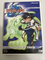 Anime Beyblade - Vol. 3: The Hidden Tiger (DVD, 2003) 5 Episodes Included