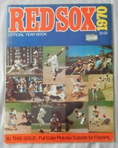 1970 Boston Red Sox Offical YearBook