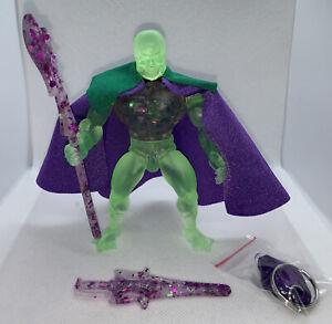 Notso Scarglow *XOX Custom* Figure Blacklight Green W/ Cape & Weapon *READ*
