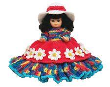"""13"""" Carla Crochet Bed Doll Pattern 7224"""