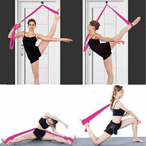 Leg Stretcher Door Stretch Band Ballet Yoga Dance Cheer Gymnastics Training Rope