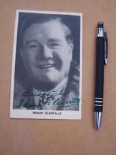 Shaun Glenville     Autograph Signature ( code J21 )  please scroll down