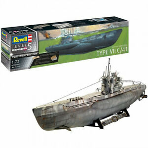 Maquette Sous-Marin Allemand Type II C/41 - 1/72 - Revell 05163