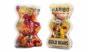 4 x Haribo Goldbears 450g Tubs Bear Shaped Tubs! Halal SEE DATES