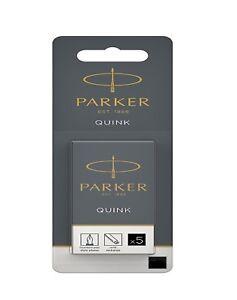 GENUINE PARKER INK CARTRIDGES QUINK INK Blue/Black