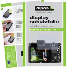 2x Nikon 1V1 Schutzfolie matt Displayschutzfolie Antireflex unsichtbar Passgenau