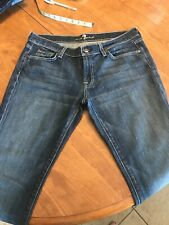 7 Seven For All Mankind Jeans 32 12 Bootcut CUTE!!! EUC CHECK THEM OUT!!!