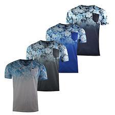 Brand New Mens Firetrap V-Neck Short Sleeve T-Shirt